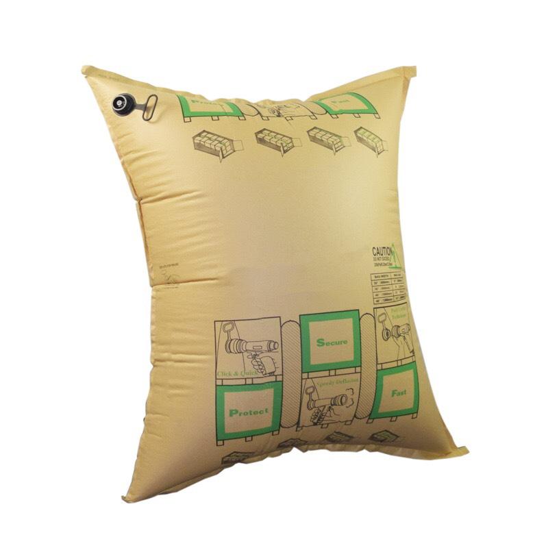 Túi khí chèn hàng bằng giấy Kraft